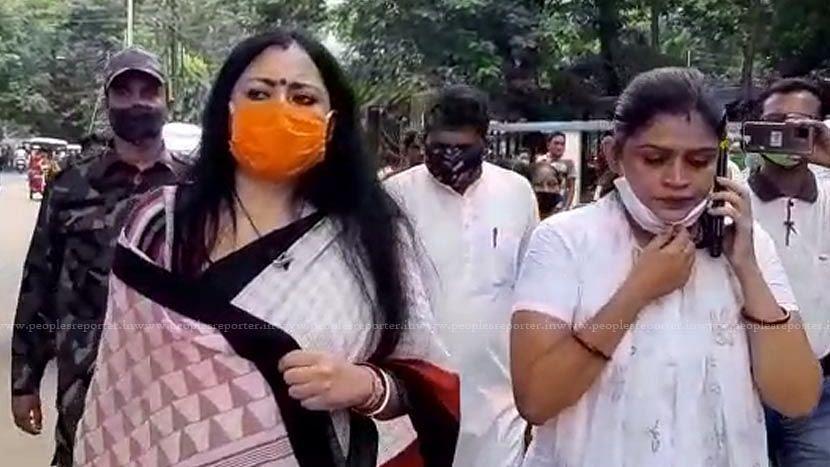 Birbhum: একাধিক ধারায় মামলা, সাইবার ক্রাইম পুলিশ স্টেশনে হাজিরা BJP বিধায়ক অগ্নিমিত্রা পলের