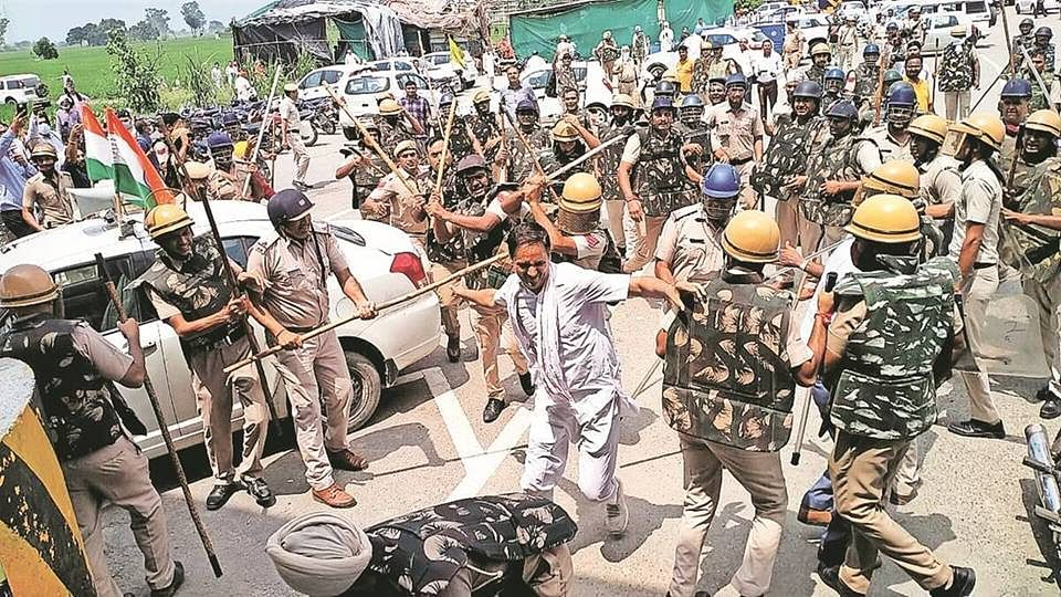 Haryana: পুলিশের লাঠিচার্জে কৃষক মৃত্যুর ঘটনায় পরিস্থিতি ক্রমশ জটিল, ক্ষোভ বিজেপির অন্দরেও