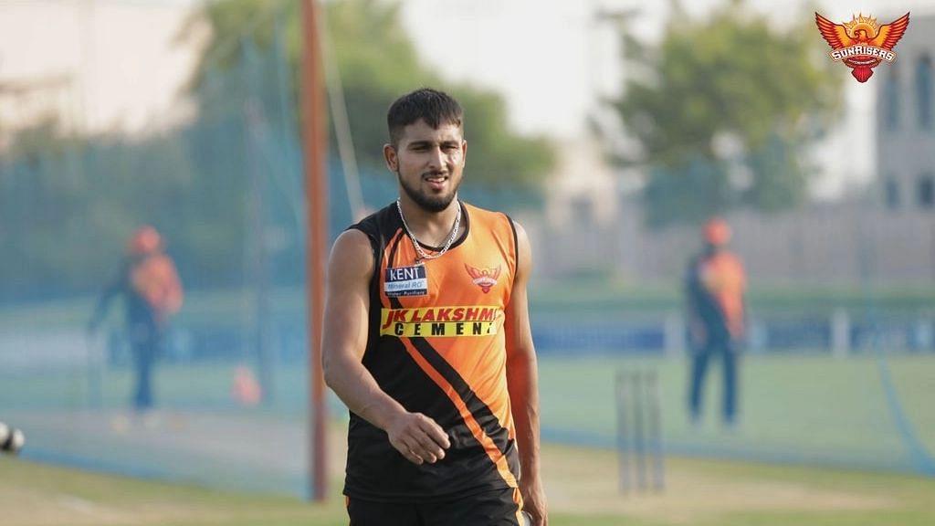 IPL 2021: করোনা আক্রান্ত নটরাজনের পরিবর্তে হায়দরাবাদ দলে এলেন উমরান মালিক