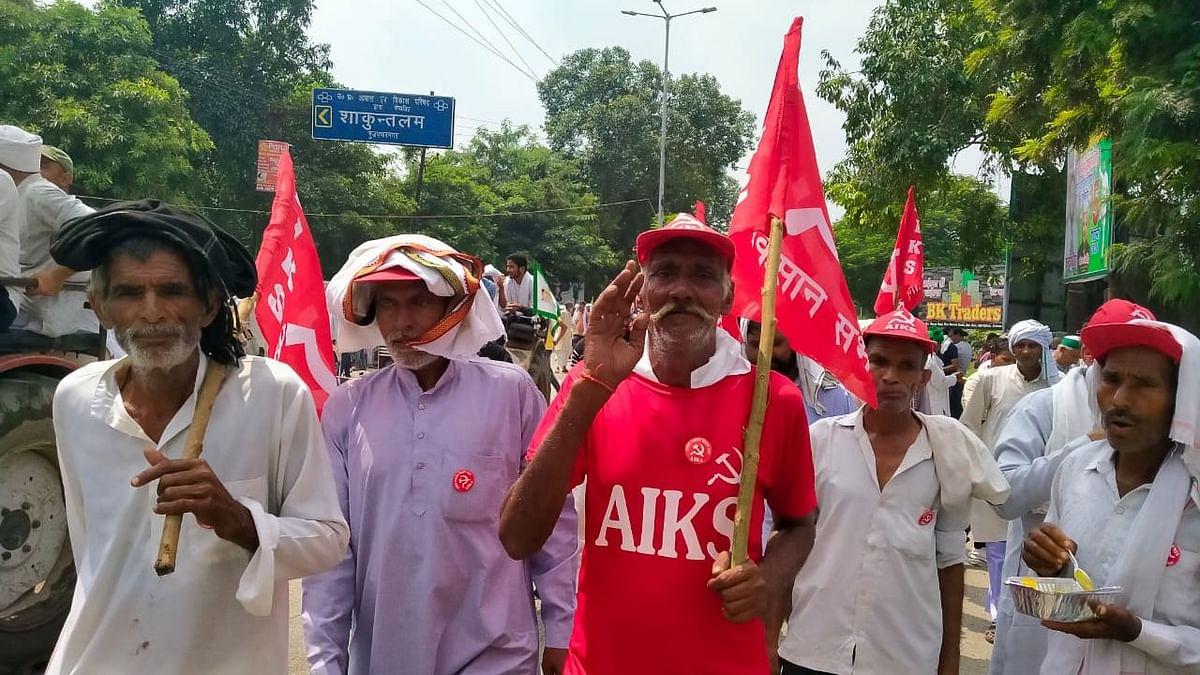 Farmers Protest: বিহারের চম্পারণ থেকে বারাণসী পর্যন্ত পদযাত্রায় আন্দোলনকারী কৃষকরা