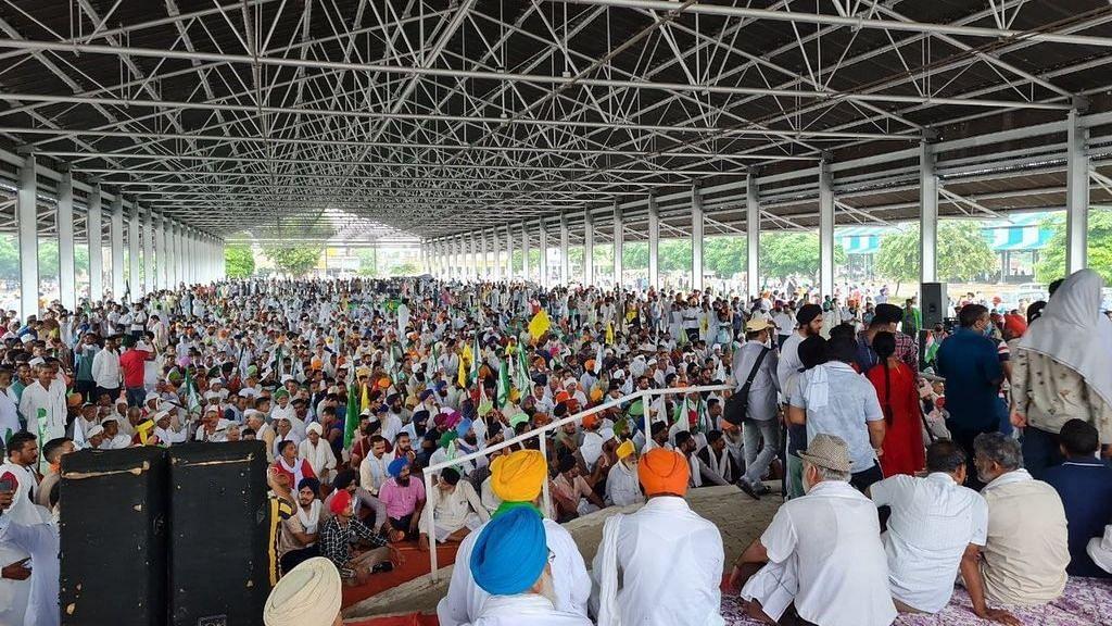 Karnal Kisan MahaPanchayat: ১৪৪ ধারা উপেক্ষা করে মহাপঞ্চায়েতে হাজির লক্ষাধিক কৃষক