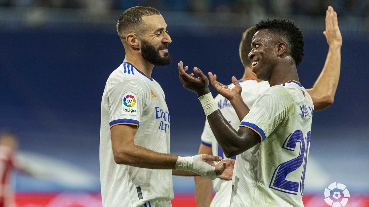 La Liga: বেনজেমার অনবদ্য হ্যাটট্রিক, পিছিয়ে থেকেও ৫-২ গোলে বড় জয় রিয়েল মাদ্রিদের