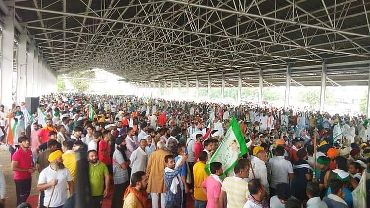 Haryana: প্রশাসনের সঙ্গে আলোচনা নিস্ফল - কার্নাল সেক্রেটারিয়েট ঘেরাও আন্দোলনরত কৃষকদের