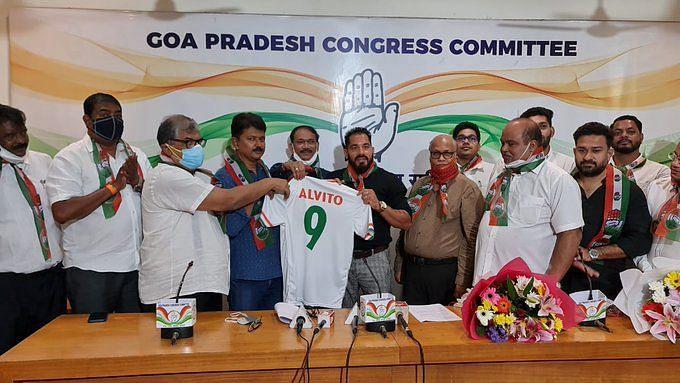 Goa: কংগ্রেসে যোগ দিলেন প্রাক্তন ফুটবলার অ্যালভিটো ডি কুনহা