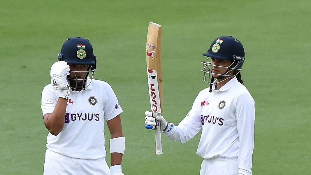 INDW VS AUSW: অনবদ্য স্মৃতি! গোলাপি বল টেস্টে প্রথম দিনের শেষে ১ উইকেট হারিয়ে ১৩৪ রান সংগ্রহ ভারতের