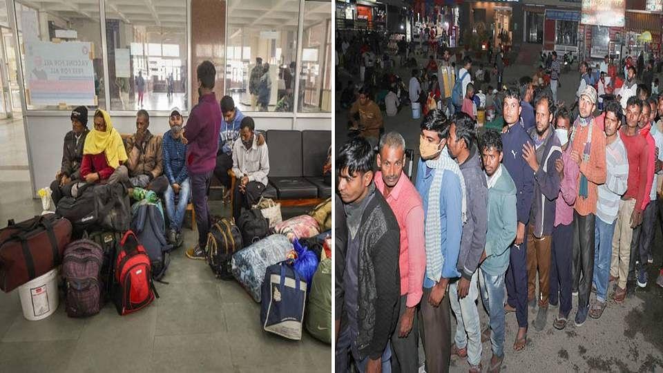 Kashmir: একের পর এক হামলা, আতঙ্কে ভূস্বর্গ ছেড়ে নিজ ভূমে ফিরছেন পরিযায়ী শ্রমিকরা
