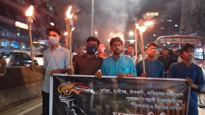 Bangladesh: সাম্প্রতিক হিংসায় উস্কানি - ডিজিটাল সিকিউরিটি অ্যাক্টে আটক ব্যক্তিকে জেলে পাঠালো প্রশাসন
