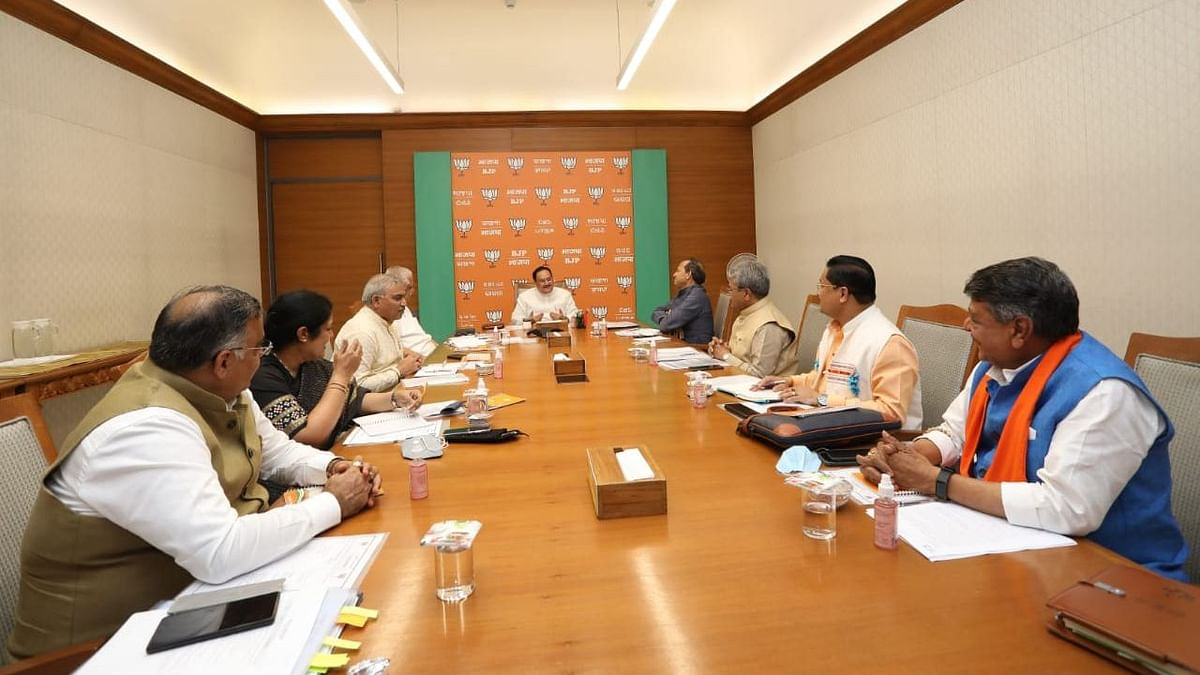 BJP: বিধানসভা নির্বাচনের প্রস্তুতি নিয়ে সাধারণ সম্পাদকদের সঙ্গে বৈঠকে জে পি নাড্ডা
