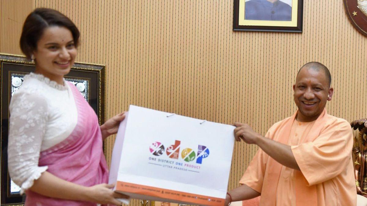 Uttar Pradesh: যোগী সরকারের ODOP প্রকল্পের ব্র্যান্ড অ্যাম্বাসেডার হলেন কঙ্গনা রানাউত