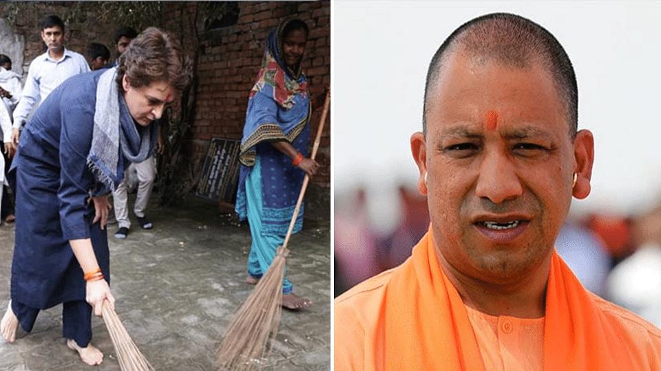 Uttar Pradesh: ফের ঝাড়ু হাতে প্রিয়াঙ্কা, 'এই ধরনের কাজের জন্যই উপযুক্ত' - মন্তব্য যোগীর