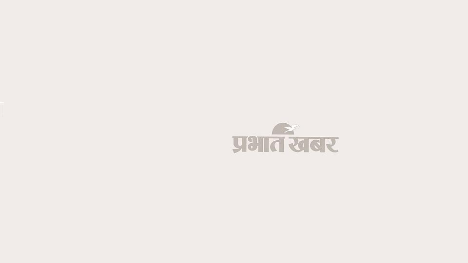 अस्पताल में भर्ती अविनाश कुमार.