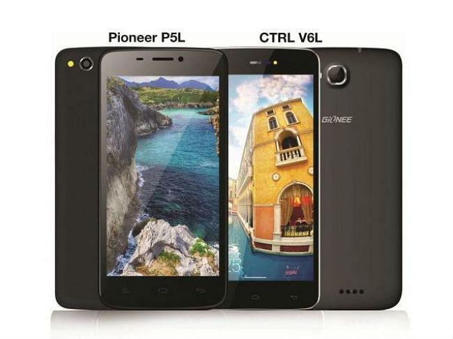 4जी एलटीई के साथ जियोनी के दो स्मार्टफोन भारत में  लॉन्च