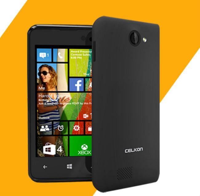 मात्र 4,979 रुपये में सेलकॉन ने पेश किया देश का सबसे सस्ता विंडोज स्मार्टफोन