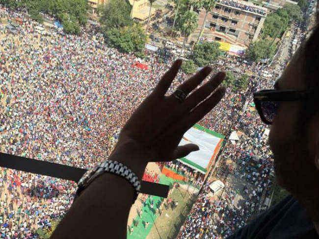 सिंघम अजय देवगन को देखने बिहारशरीफ में सिंघम बने लोग,   50 हुए घायल, देखें वीडियो