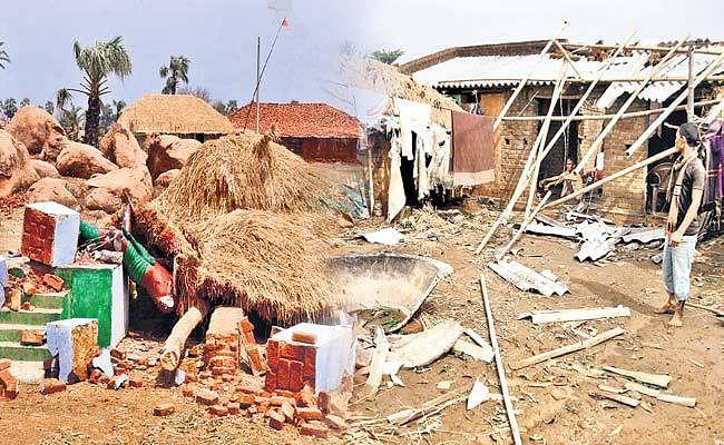 झारखंड : गोड्डा में आंधी-पानी से चार सौ घर क्षतिग्रस्त
