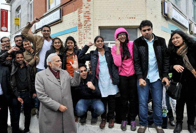 नेताजी के पौत्र बर्लिन में प्रधानमंत्री मोदी से मिले