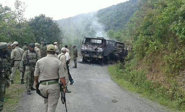 मणिपुर हमला : परिवार ने की उग्रवादी के शव की शिनाख्त