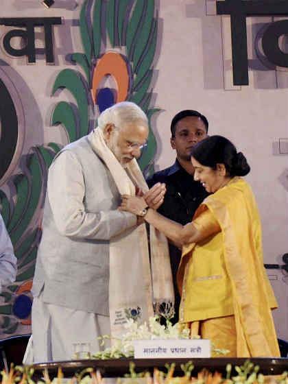 सुषमा और शिवराज ने कहा, हिन्दी का मान बढ़ा रहे हैं प्रधानमंत्री