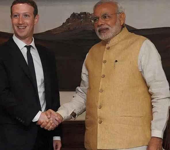 मार्क जुकरबर्ग से मिलेंगे प्रधानमंत्री नरेंद्र मोदी, फेसबुक पर होंगे लाइव सवाल जवाब