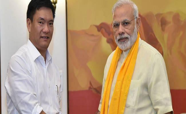 अब अरुणाचल में भी  सरकार में शामिल होगी भाजपा