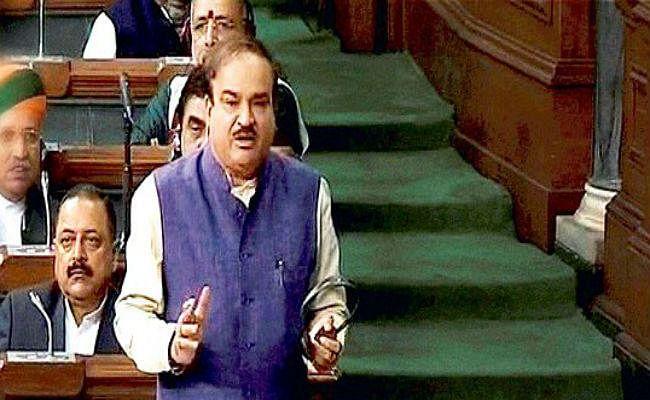 संसद का समय और जनता का पैसा बर्बाद करने के लिए विपक्ष मांगे माफी : अनंत कुमार
