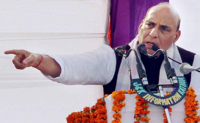 पाकिस्तान भारत को धार्मिक आधार पर बांटने का षड्यंत्र रच रहा है : राजनाथ