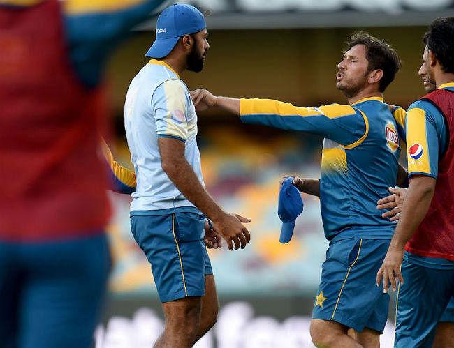 जब प्रैक्टिस सेशन में भिड़ गये पाकिस्तानी खिलाड़ी वहाब और यासिर