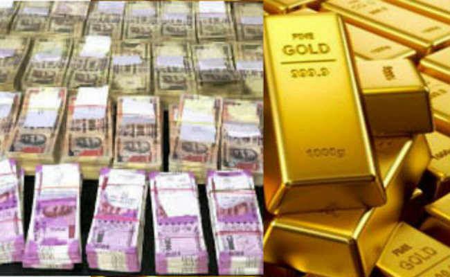 नोएडा सेज कंपनी से 2.60 करोड़ रुपये की नकदी, 95 किलो सोना, चांदी जब्त किया