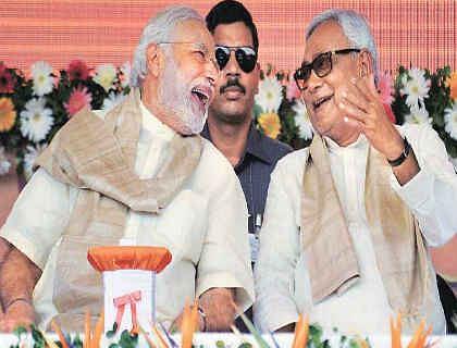 पीएम नरेंद्र मोदी ने दी नीतीश कुमार को जन्मदिन की हार्दिक बधाई