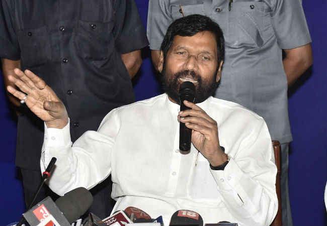 नीतीश को 'पीएम मेटेरियल'' बताये जाने बोले पासवान, पहले अपराध मुक्त बने बिहार