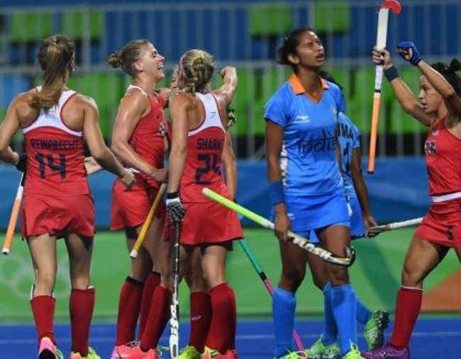 रियो ओलंपिक (महिला हॉकी) : अमेरिका ने भारत को 3-0 से हराया