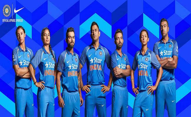 टीम इंडिया की नयी जर्सी से गरमी में भी होगा ठंड का एहसास