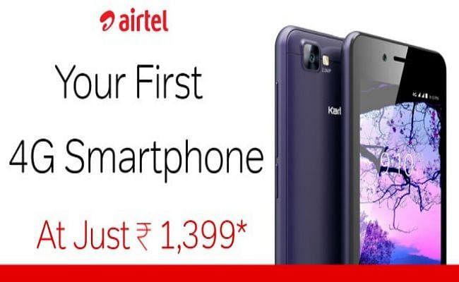 1500 के JioPhone के जवाब में Airtel लाया 1399 में 4G स्मार्टफोन, जानें पूरी बात