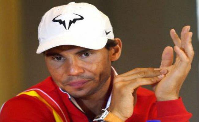 गोल्फर टाइगर वुड्स का खेल देखने पहुंचे राफेल नडाल