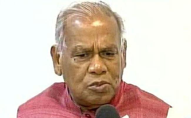 अपनी ही सरकार के खिलाफ धरने पर बैठे जीतन राम मांझी