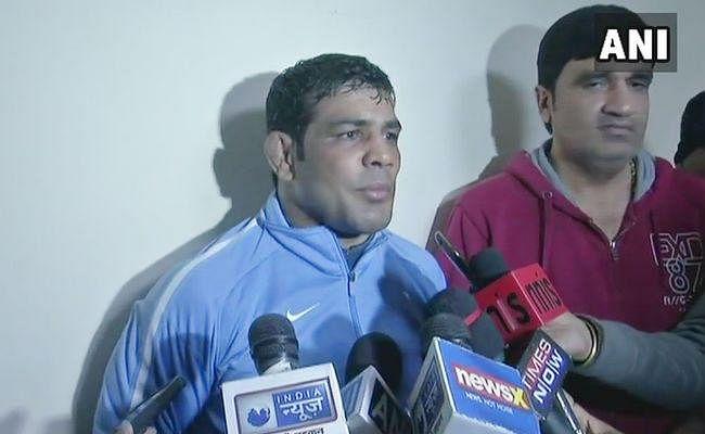 सुशील कुमार ने किया कॉमनवेल्थ गेम्स के लिए क्वालीफाई, ट्रायल के दौरान समर्थको में चले लात-घुस्से