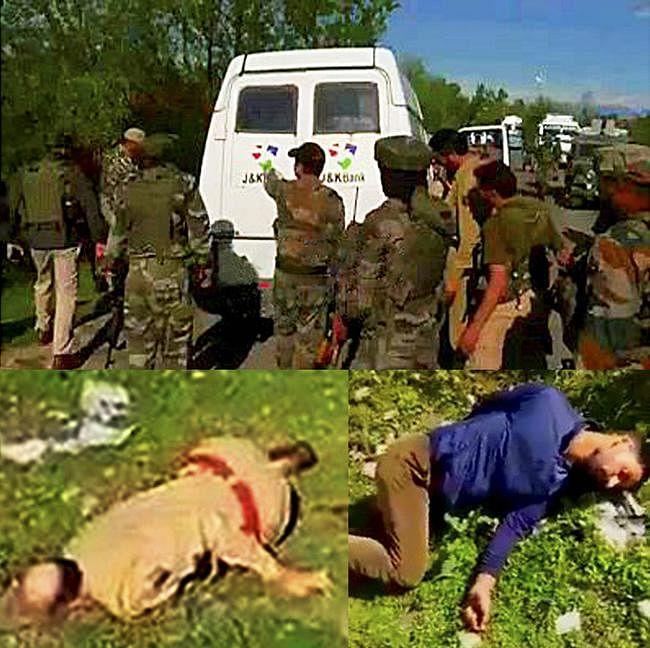 कश्मीर में कैश वैन पर हमला, आतंकियों ने सात लोगों की हत्या की
