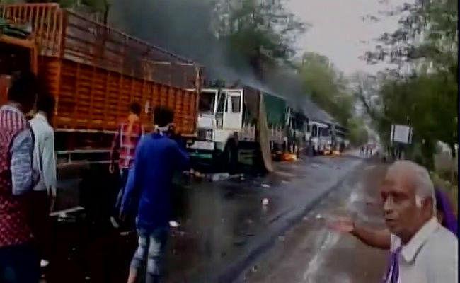 VIDEO मंदसौर हिंसा: प्रशासन को चकमा देते हुए जब बाइक से ही निकले राहुल गांधी