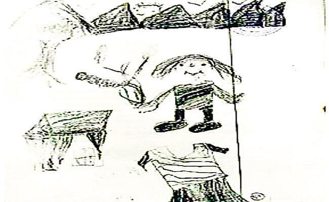 बच्ची के स्केच ने रेपिस्ट चाचा को दिलायी सजा