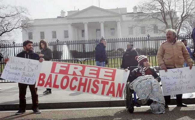 पाकिस्तान के अत्याचारों के खिलाफ बलूचों ने किया जेनेवा में प्रदर्शन