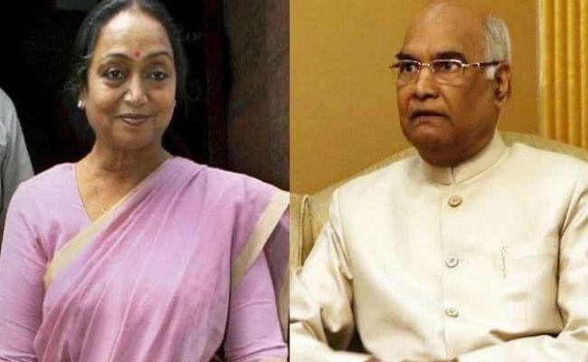 रायसीना हिल्स रेस : आंकड़े कोविंद के साथ, मीरा के लिए मुश्किल डगर
