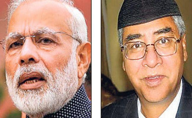 पीएम मोदी और नेपाल के पीएम शेर बहादुर देउबा 26 को आयेंगे बिहार
