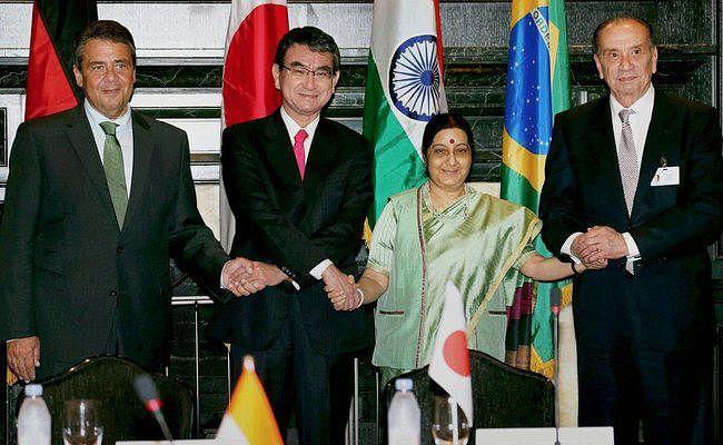 सुषमा स्वराज ने एसीसीओ से कहा-आतंकवाद को बढ़ावा देना ठीक नहीं
