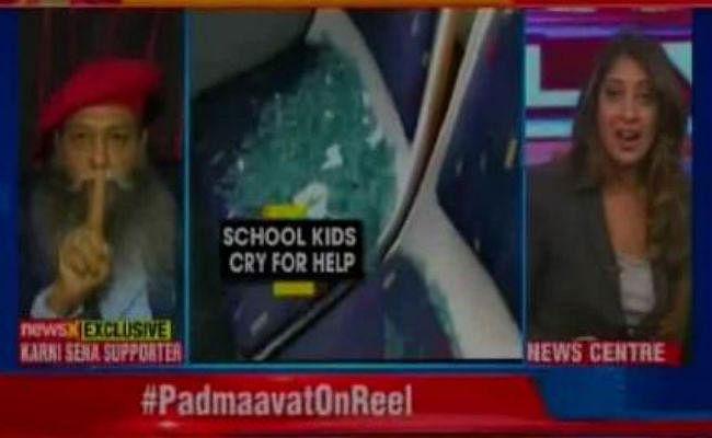 Padmaavat Row : करणी सेना के नेता ने TV डिबेट में महिला एंकर को कहा BABY, एंकर ने लगायी क्लास, VIDEO VIRAL