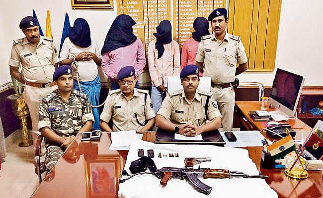 बेगूसराय में एके-47 के साथ चार अपराधी गिरफ्तार, मोनी ने जमा की अकूत संपत्ति, होगी जांच
