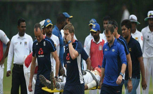 इस क्रिकेटर को लगी गेंद, सिर पकड़कर मैदान में ही गिर पड़ा फिर...
