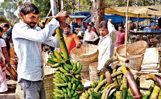 छठ महापर्व को लेकर सूप-दउरे का बाजार गुलजार, चौक-चौराहे पर सजी दुकानें