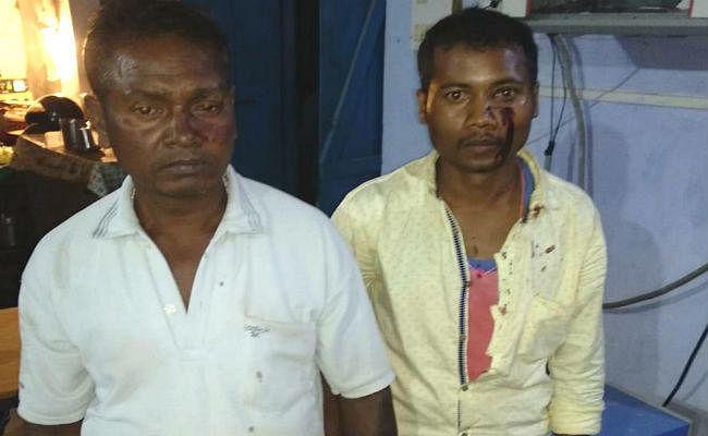 गुमला : रसोई-गैस बांटने गये गैस एजेंसी के दो कर्मियों पर फायरिंग, गोली का छर्रा लगा