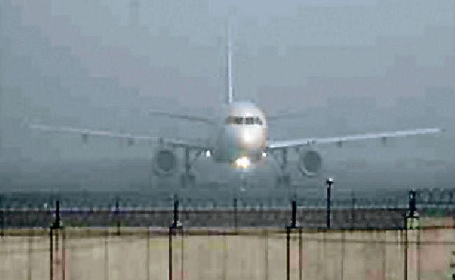 पटना में घने धुंध के कारण हवाई सेवा बाधित, स्पाइसजेट की दो फ्लाइटें कोलकाता हुईं डायवर्ट