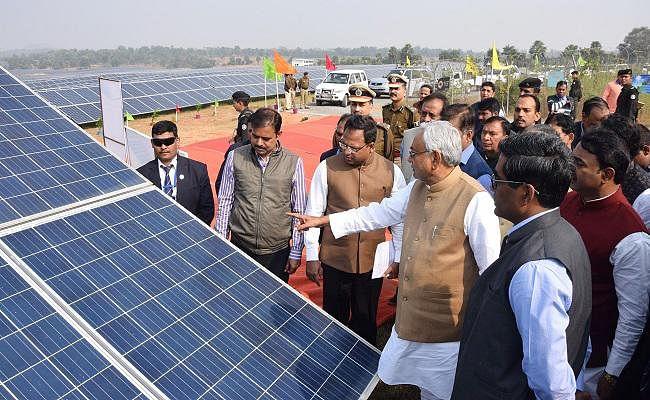 सौर ऊर्जा का करें सदुपयोग, थर्मल प्लांट नहीं है अक्षय : नीतीश